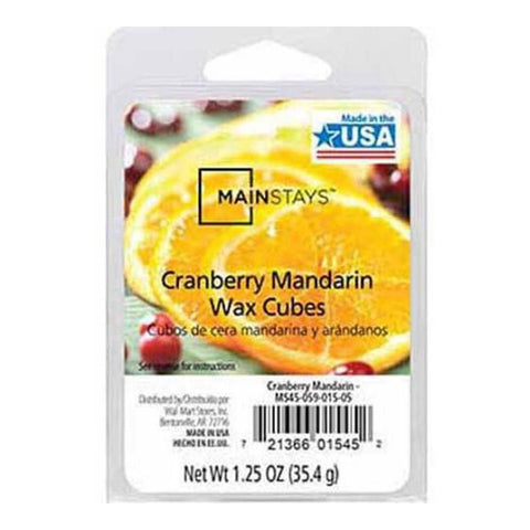 Mainstays Cranberry Mandarin Scented Wax Cube Melts MS14-059-015-04