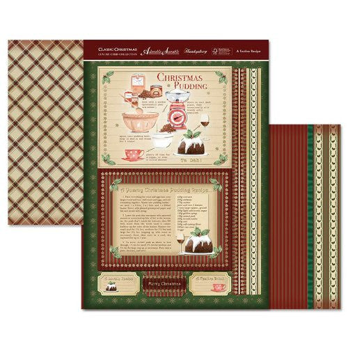 hunkydory adorable scorable luxury card collection classic christmas a festive receipe - hanrattycraftsgifts.co.uk