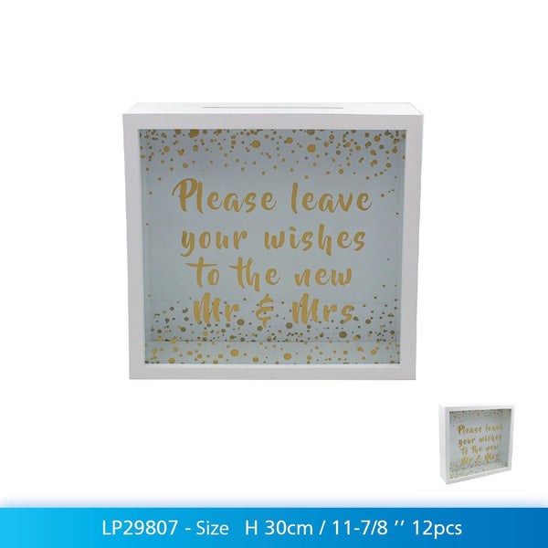 "Wedding Best Wishes Collection - ""Please leave your wishes to the new Mr & Mrs"" - hanrattycraftsgifts.co.uk"