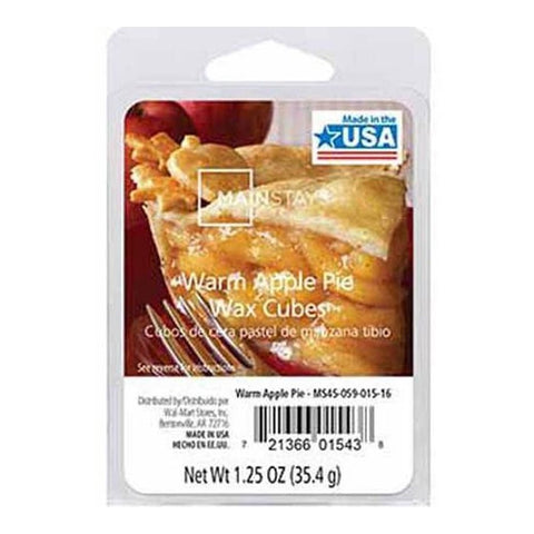Mainstays Warm Apple Pie Scented Wax Cube Melts MS14-059-015-20