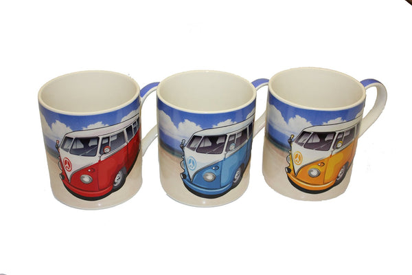 camper van mug one supplied choice three colours please state - hanrattycraftsgifts.co.uk