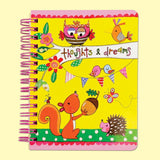 Rachel Ellen Small Hardback Notebook - Thoughts & Dreams - hanrattycraftsgifts.co.uk
