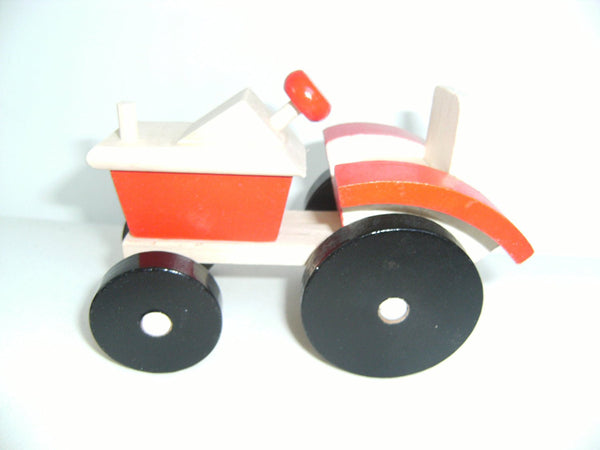 Traditional Wood and Fun Farm Tractor
