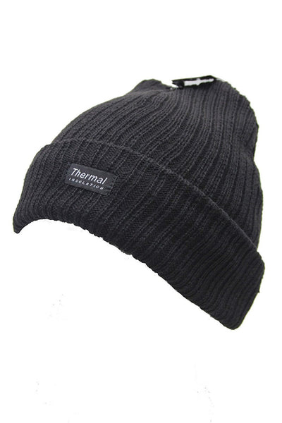 New Unisex Mens Womens Thermal Insulation Winter Black Hat Beanie Knit –  hanrattycraftsgifts.co.uk 3ef0c0ed286