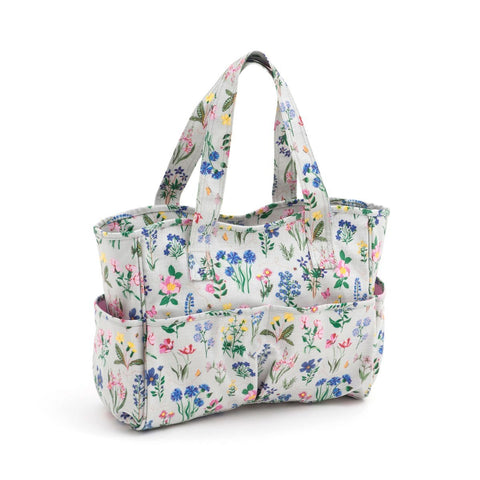 Craft Bag - Matt PVC - Spring Garden | HobbyGift MRB/272 | 12.5x39x35 - hanrattycraftsgifts.co.uk