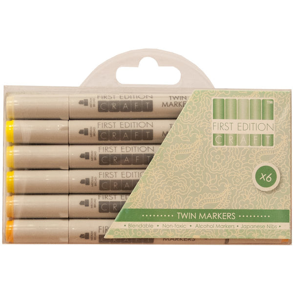 Trimcraft Yellows -First Edition Markers