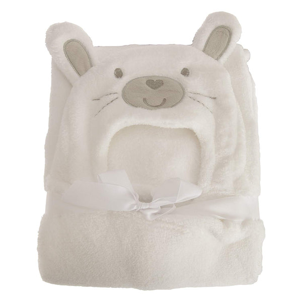 Snuggle Baby Boys/Girls Supersoft Bunny Baby Wrap