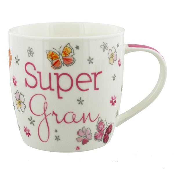 Super Gran China Birthday Mug Juliana Collection - hanrattycraftsgifts.co.uk