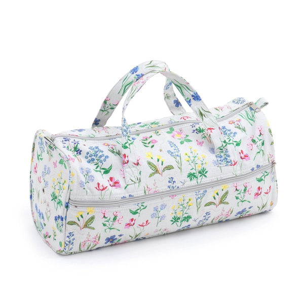 Knitting Bag (Fabric Handles) - Spring Garden | Hobby Gift MR469872 | 15x42x17½ cm - hanrattycraftsgifts.co.uk