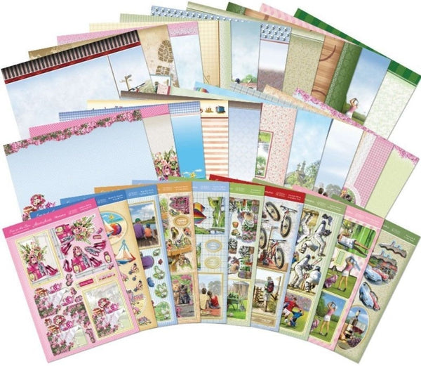 Hunkydory Fun In The Sun: Designer Decoupage Collection - hanrattycraftsgifts.co.uk