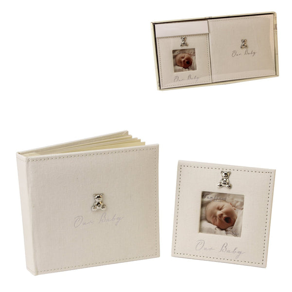 bambino by juliana or baby photo album & photo frame