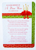 Dear Nan Grave Card Christmas Decorations Memorial Remembrance Missing You Card - hanrattycraftsgifts.co.uk