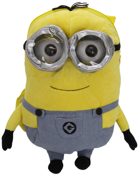 Despicable Me Two Eye Minion Plush Backpack - hanrattycraftsgifts.co.uk