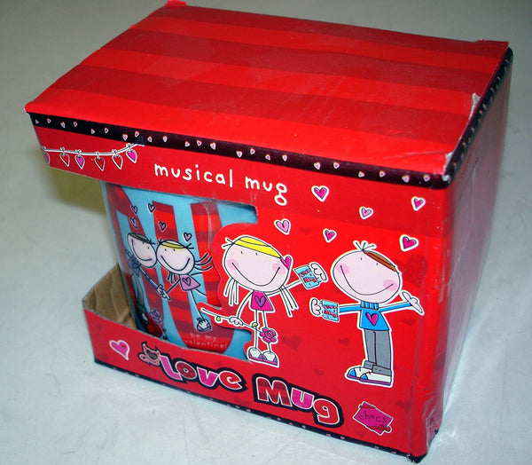 Musical Boxed Love Mug - hanrattycraftsgifts.co.uk