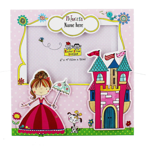 Rachel Ellen Collection Baby Girl Princess Photo Frame - hanrattycraftsgifts.co.uk