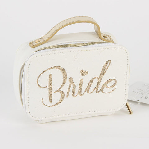 Always Forever' Small Jewellery Organiser Case 'Bride'