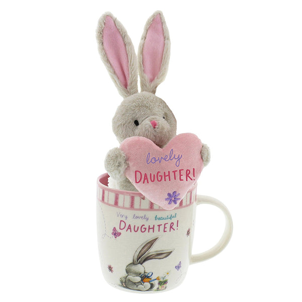 Bebunni Rabbit Small Standing Mug Gift Set Daughter