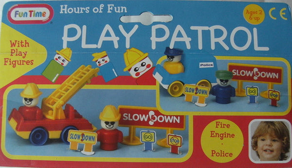 Play Patrol Police Set with play figures