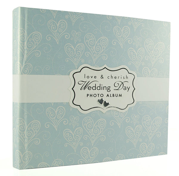 Love & Cherish Pearlised Paperwrap Wedding Photo Album