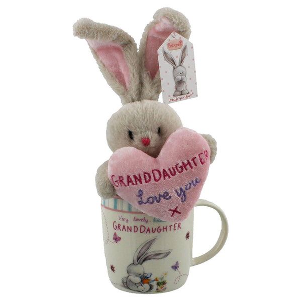 bebunni rabbit small standing gift set grandaughter - hanrattycraftsgifts.co.uk
