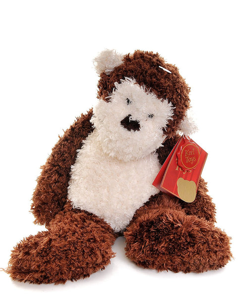 Keel Floppy Pets Cream and Brown Monkey so very soft new design