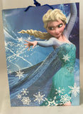 Disney Frozen Medium Gift Bag (Blue) - hanrattycraftsgifts.co.uk