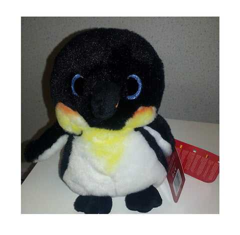 Keel Toys 20CM Sparkle Eyes Penguin Soft Plush Toy - hanrattycraftsgifts.co.uk