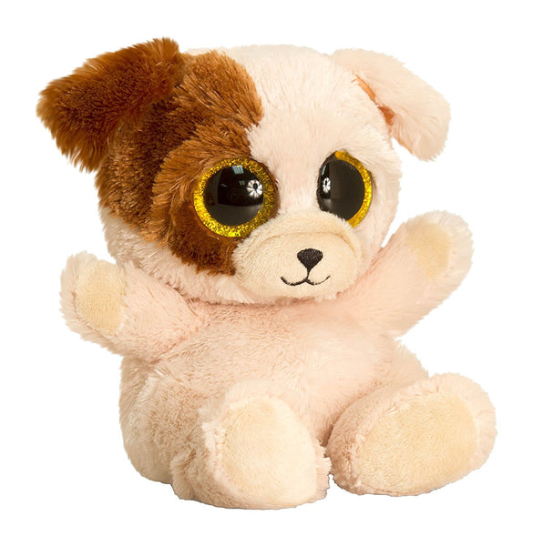 Keel Toys SF0438 15 cm Animotsu Bulldog Plush Toy - hanrattycraftsgifts.co.uk