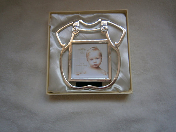 baby my frame silver plated 3x3 novelty design - hanrattycraftsgifts.co.uk