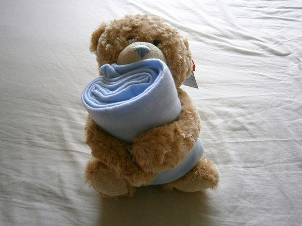 keel cuddle bear with blanket 25 cm - hanrattycraftsgifts.co.uk