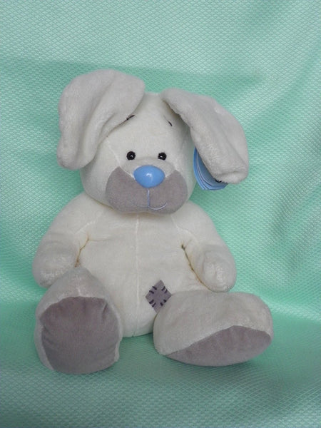 "My Blue Nose Friends 8"" Blossom the Rabbit - Soft Toy Beanie - hanrattycraftsgifts.co.uk"