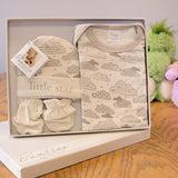 Bambino By Juliana Baby Gift - Babygrow Body Suit Hat & Mittens - CG947 - New - hanrattycraftsgifts.co.uk