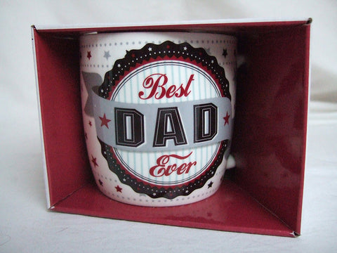 """Best Dad Ever"" Vintage Style Sentimental Mug"
