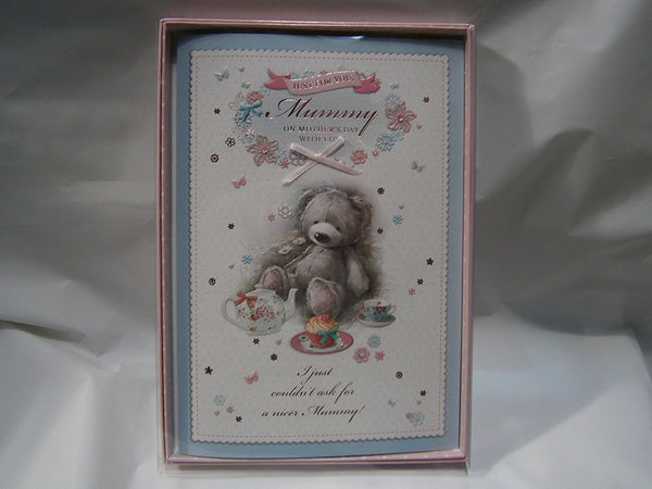 just for you mummy on mothers day boxed card