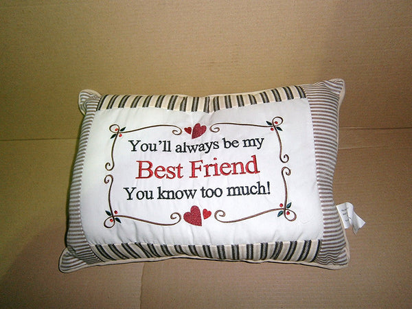 a friend cushion - hanrattycraftsgifts.co.uk