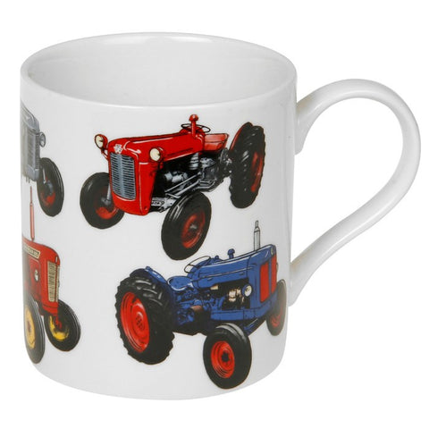vintage   Mug Tractor LP99876 - hanrattycraftsgifts.co.uk