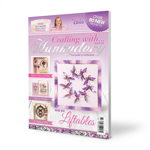 Crafting with Hunkydory Project Magazine - Issue 28 - hanrattycraftsgifts.co.uk