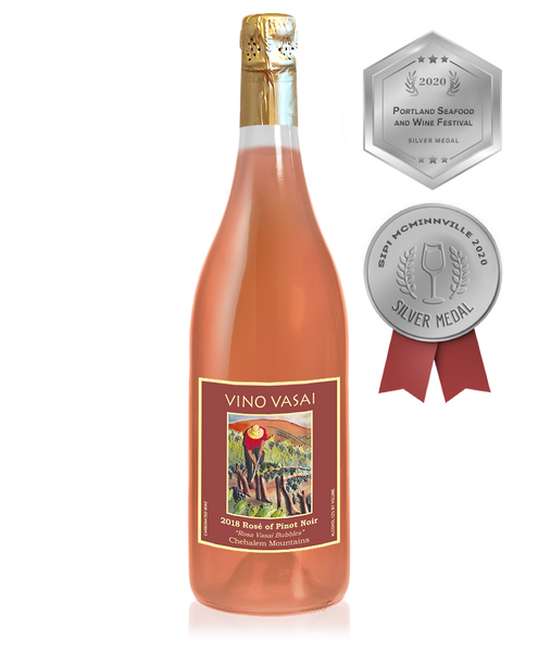 2018 SPARKLING Estate Rosé of Pinot Noir