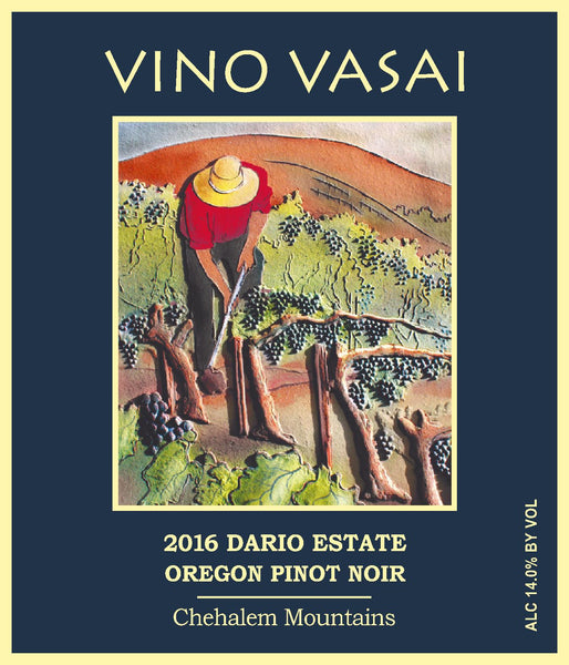 2016 Dario Estate Pinot Noir