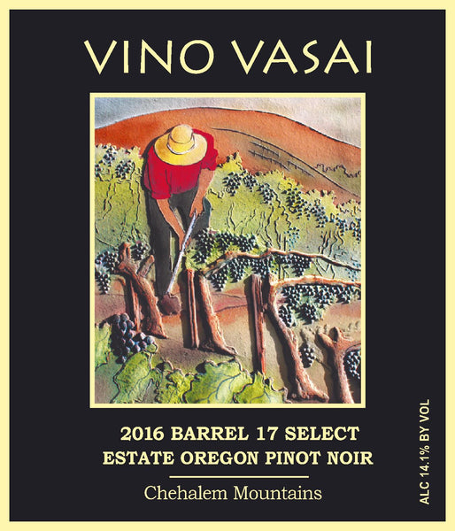 2016 Barrel 17 Select Estate Pinot Noir