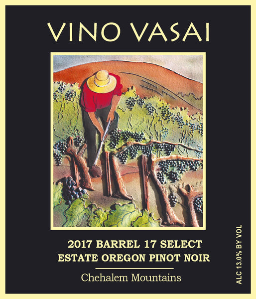 2017 Barrel 17 Select Estate Pinot Noir