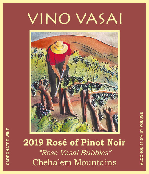 2019 SPARKLING Estate Rosé of Pinot Noir