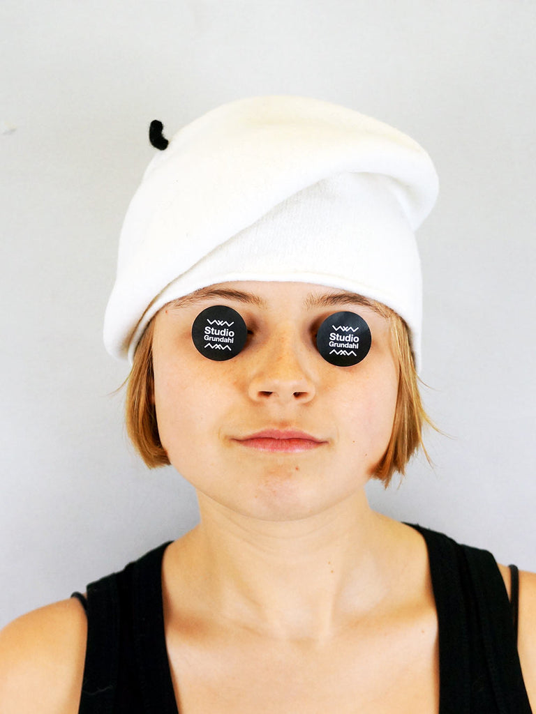 Kopka Felix Roll Up Beret White