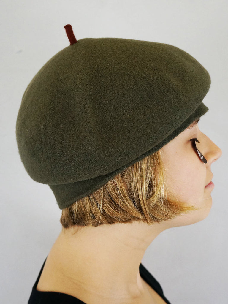 Kopka Felix Roll Up Beret Army