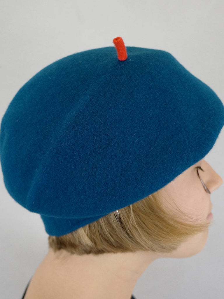 Kopka Felix Roll Up Beret Petrol