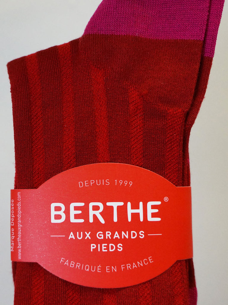 Berthe Knee Socks Red