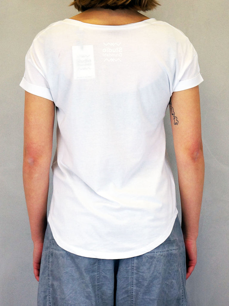 Studio Grundahl Loose Fit T-shirt White