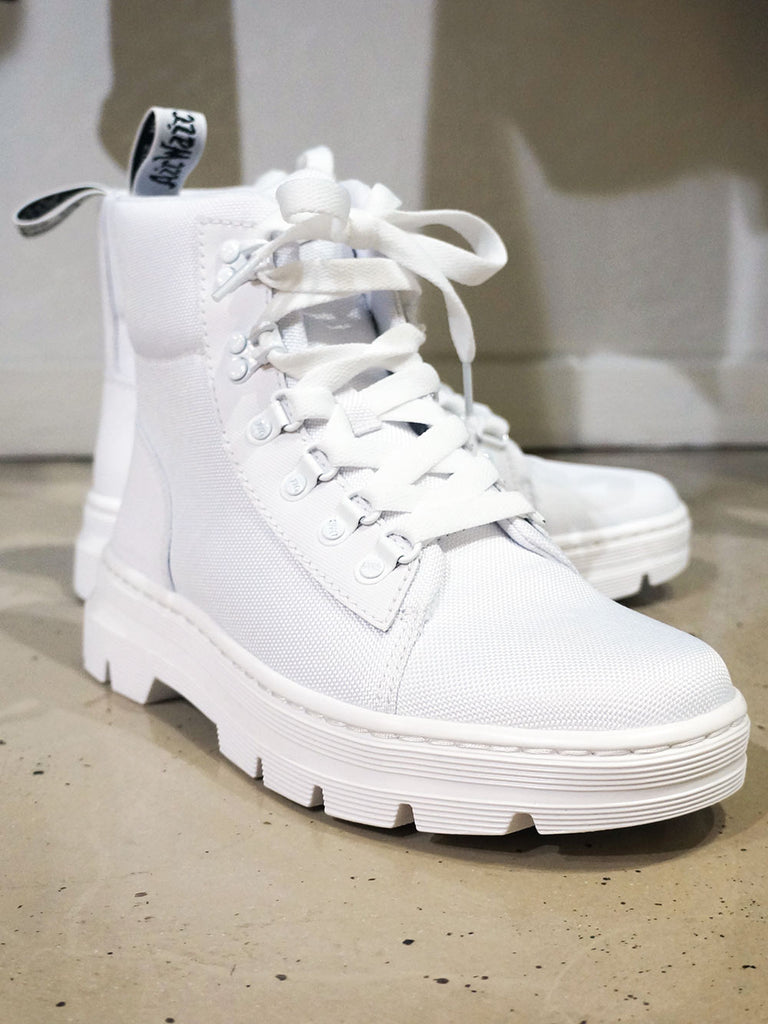 Dr. Martens Combs White