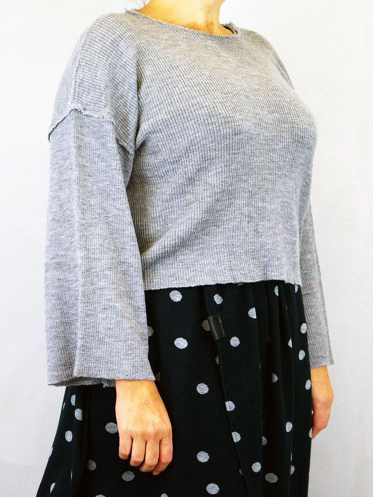 Gudrun & Gudrun Betta Blouse Grey
