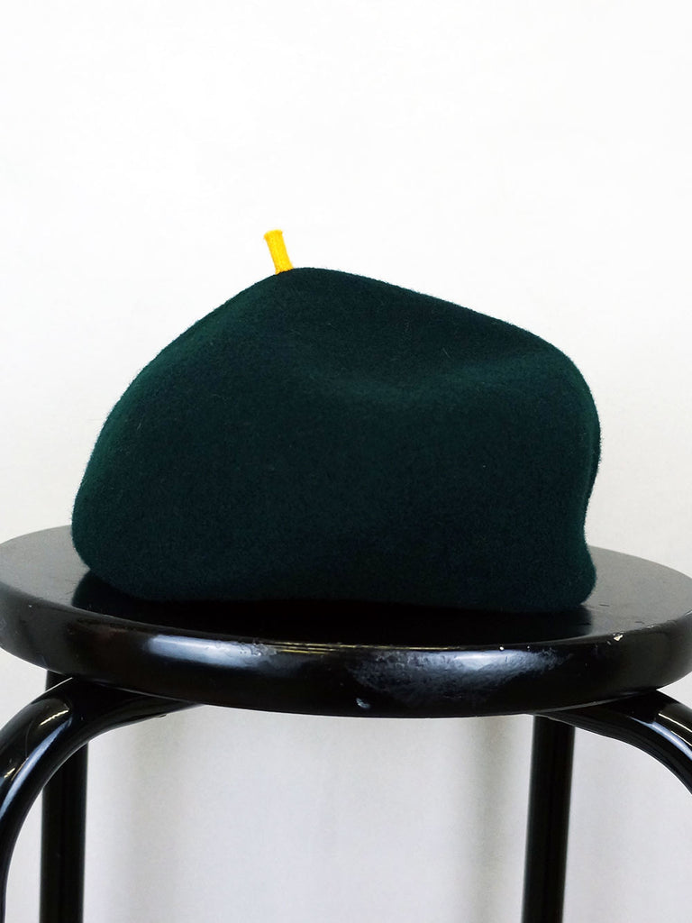 Kopka Felix Roll Up Beret Emerald